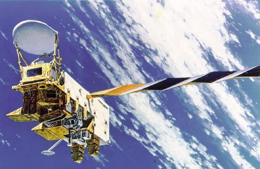 Der Satellit Aqua umkreist seit 2002 die Erde.