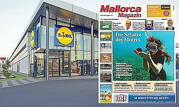 Das Mallorca Magazin kann man ab sofort auch bei Lidl kaufen.