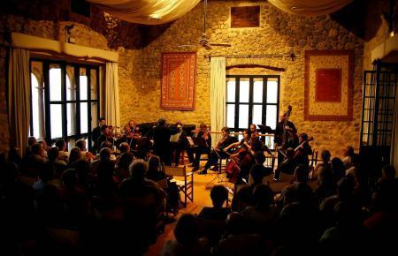 Konzertsaal im Santo-Domingo-Kloster.