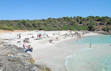 Die Cala Varques befindet sich im Osten von Mallorca.