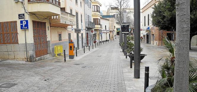 Die verkehrsberuhigte Zone von Son Servera wurde ausgeweitet.