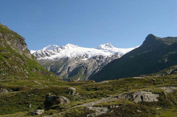 Alpengipfel in Österreich.