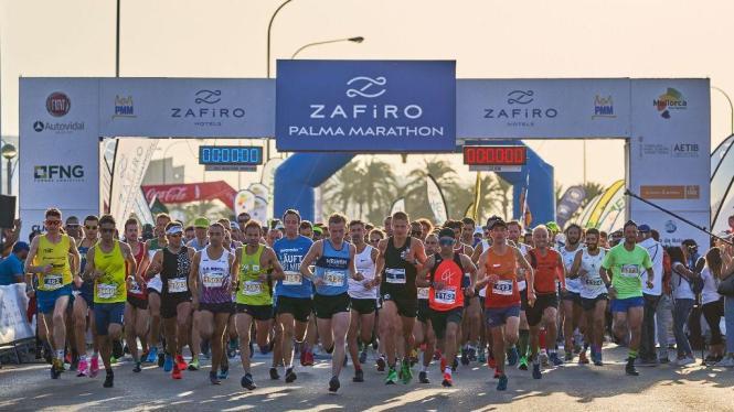 Der Palma-Marathon im vergangenen Jahr.