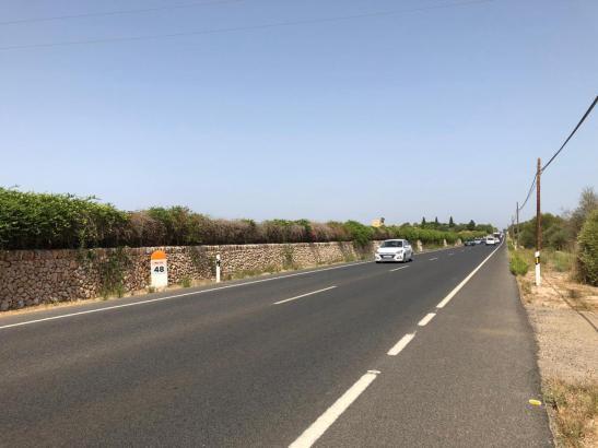 Der Unfall ereignete sich auf der Ma-19 Höhe Kilometer 48.