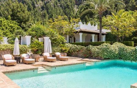 So sieht es im Garten der S'Estaca-Finca aus.
