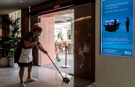 Endreinigung: Knapp die Hälfte der Hotels auf Mallorca schließt zum Ende August.