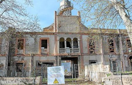 POLLENÇA PATRIMONIO. Aspecto actual de la antigua fábrica Can Morató.