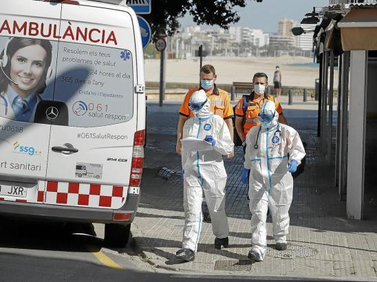 Corona-Ärzte auf Mallorca.