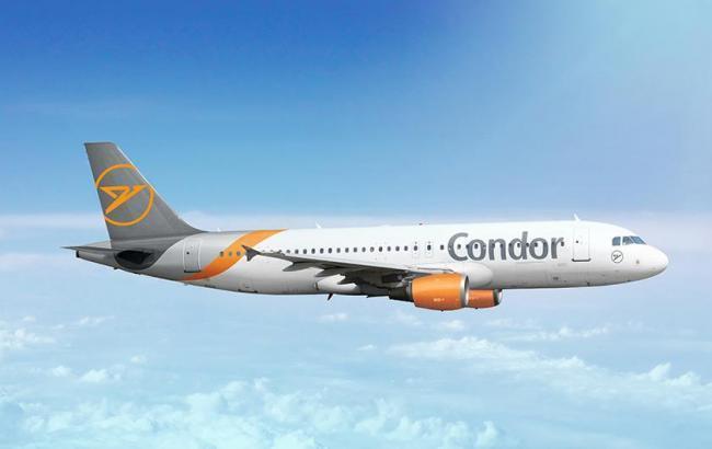 Blick auf einen Condor-Jet.
