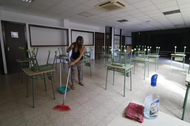 Auf Mallorca starte die Schulen am 10. beziehungsweise am 15. September in das neue Schuljahr.