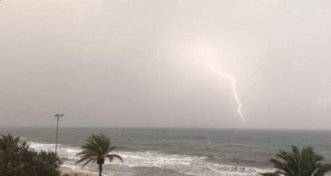 Erst vergangene Woche waren Unwetter über Mallorca hinweggezogen.