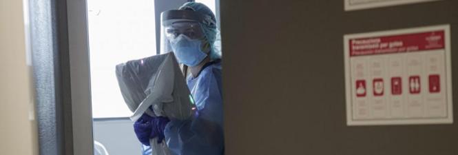 Die Krankenhäuser sind momentan nicht überlastet.