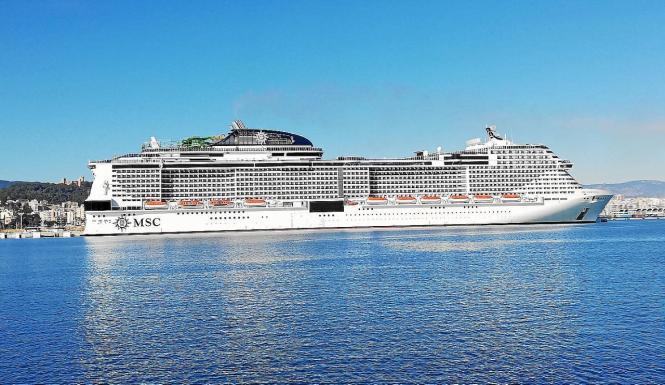 Die Schiffe von MSC und Costa Crociere waren vor der Pandemie Dauergast in Palma.