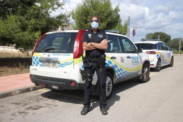 Toni Montserrat ist Polizist in der Gemeinde Santanyí.