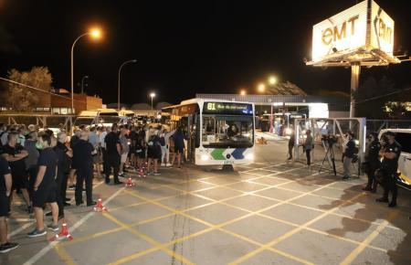 Palmas Busfahrer sind in einen unbefristeten Ausstand getreten.
