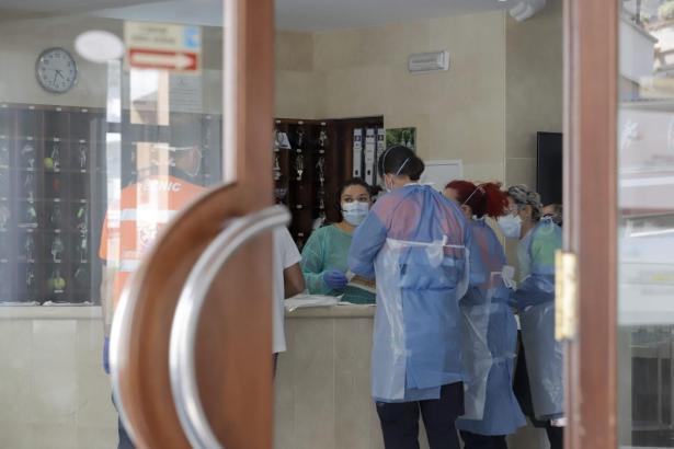 Krankenhauspersonal im Einsatz auf Mallorca.