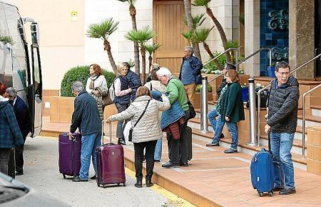 Im Frühling mussten unter anderem diese Bundesbürger Mallorca verlassen.