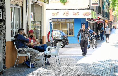 Straßenszene in Son Gotleu.