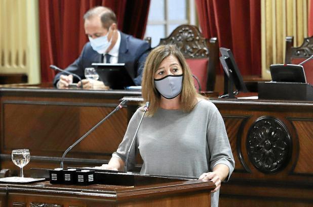 """Ministerpräsidentin Francina Armengol sagte am Dienstag: """"Nur sechs Regionen Spaniens stehen besser da als wir."""""""