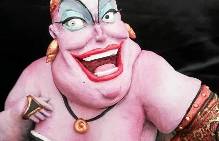 Zuckersüß und gleichzeitig durchtrieben: die Krake Ursula im Steampunk-Look.