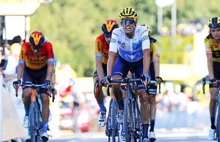 In La Roche Sur Foron fuhr Enric Mas als Siebter über die Ziellinie.