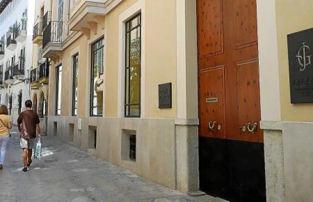 Blick auf ein Boutique-Hotel in Palma.