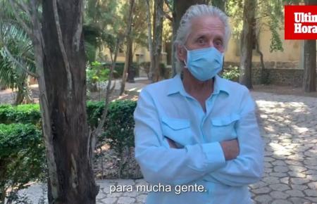 Entrevista al actor Michael Douglas en Mallorca