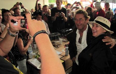 Lang ist's her: Finca-Fest von Peter Maffay auf Mallorca im Jahr 2011.