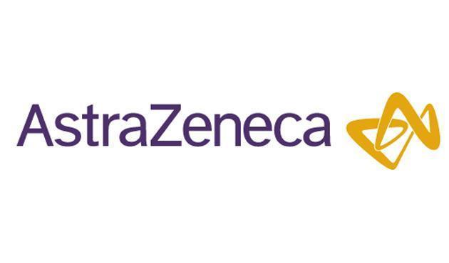 Das Logo von AstraZeneca.