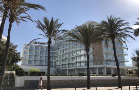 Hotel auf Mallorca.