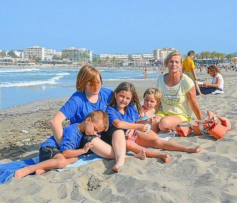 Elke Schultheiss kümmert sich in Spanien um die Kinder ihrer Gastfamilie – und will nebenbei Spanisch lernen.