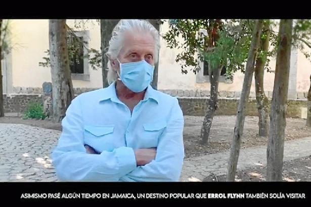 Michael Douglas während seines Interviews mit Ultima Hora.
