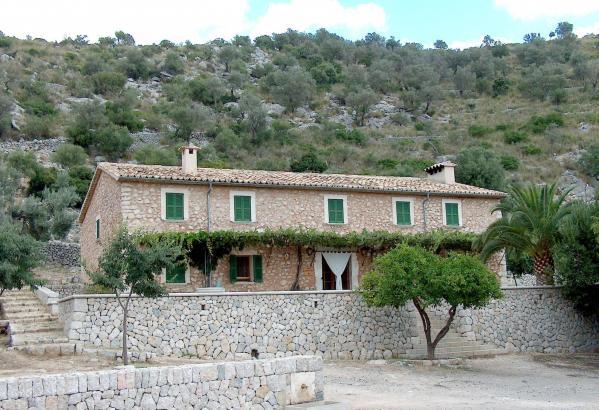 Die Berghütte Tossals Verds in Escorca.