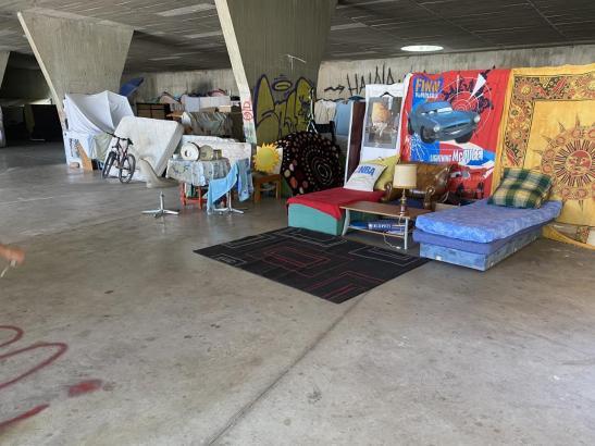So hausen Obdachlose auf Mallorca.