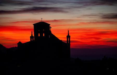 Sonnenuntergang auf Mallorca.