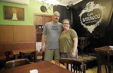 Die Betreiber Eva Durán und Martín Louro.