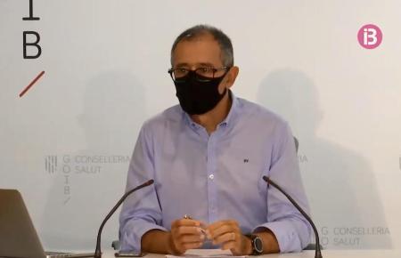 Javier Arranz, der Corona-Experte der balearischen Landesregierung.