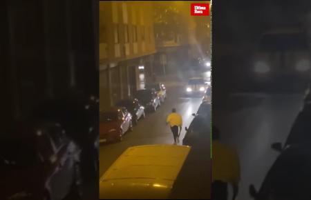 Video von dem Vorfall.