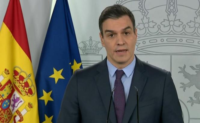 Ministerpräsident Pedro Sánchez.