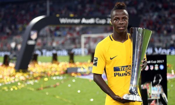 Amath Ndiaye gewann 2017 mit Atlético Madrid in München den Audi-Cup und wechselte wenige Tage später zum FC Getafe.