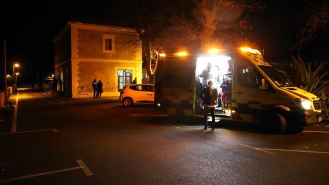 Archivbild von einem Krankenwagen im Einsatz.