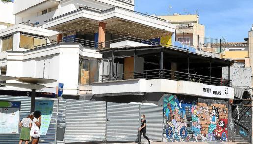 Die etwas heruntergekommenen Gebäude rund um die Plaza Gomila in Palmas Stadtteil El Terreno sollen neuen Wohnungen weichen.