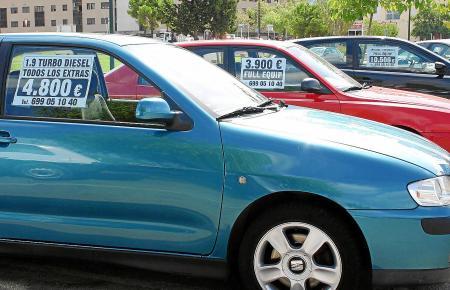 Auf Mallorca wechseln täglich zahlreiche Gebrauchtwagen den Besitzer.
