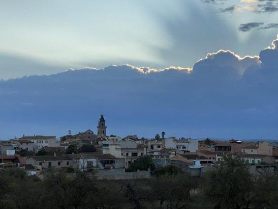 So sah es örtlich am Mittwoch über Mallorca aus.