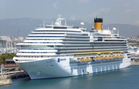 Die Costa Diadema ist für den 31. Oktober im Hafen von Palma angemeldet, wird aber wohl nicht kommen.
