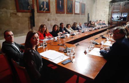 Kabinettssitzung der Balearen-Regierung.