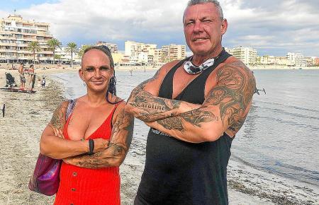 Caro und Andreas Robens sind seit mittlerweile zehn Jahren ein Paar und betreiben in Arenal ein Fitnessstudio..