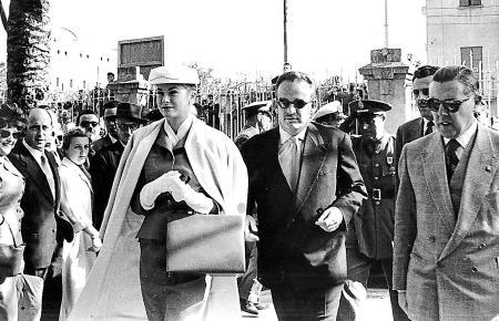 Grace Kelly und Fürst Rainier von Manoca flitterten schon damals auf Mallorca.