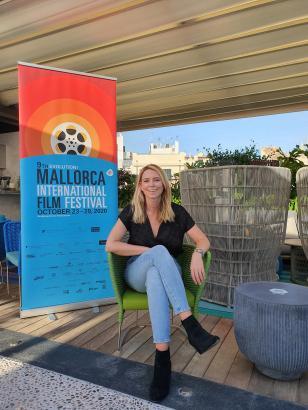 Sandra Lipski präsentiert in diesem Jahr insgesamt 104 Produktionen beim Evolution Mallorca International Film Festival in Palma.