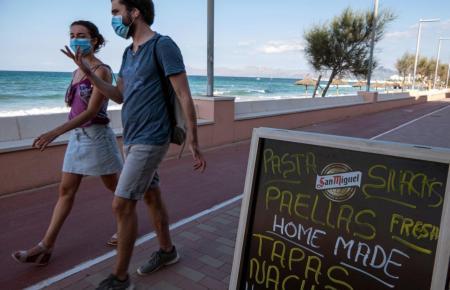 Seit Juli herrscht auf Mallorca Maskenpflicht.